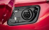Vauxhall Grandland X Hybrid4 2020 first drive review - charging port