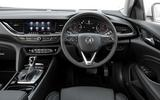 Vauxhall Insignia sports tourer 2019 first drive review - dashboard