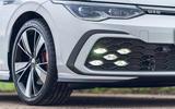 4 Volkswagen Golf GTD 2021 UK first drive review front lights