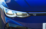 4 Volkswagen Golf R 2021 UK first drive review headlights