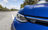 4 Volkswagen Golf R Estate 2021 first drive review headlights