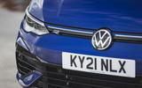 4 Volkswagen Golf R performance pack 2021 UK FD headlights
