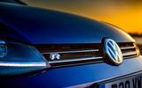 Volkswagen Golf R Performance Pack 2018 review bonnet badge