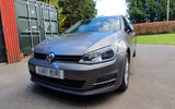 Volkswagen Golf - static front