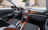 Volkswagen T-Cross 2019 first drive review - interior