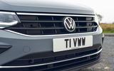 4 Volkswagen Tiguan 2021 UK FD nose