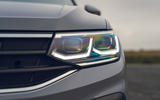Volkswagen Tiguan Life 2020 UK first drive review - headlights