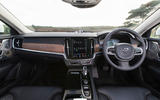 Volvo V90 R-Design Pro 2018 UK first drive review - dashboard