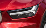 Volvo XC40 T3 2018 first drive review headlights