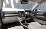 Volvo XC40 T5 2019 UK first drive review - dashboard