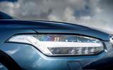 Volvo XC90 B5 petrol 2020 UK first drive review - headlights