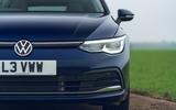 4 VW Golf Estate 2021 UK FD nose
