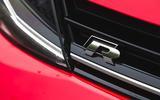 Volkswagen Golf R Estate performance pack 2018 UK review front badge