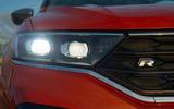 Volkswagen T-Roc R 2019 first drive review - headlights
