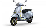 For a small premium the Vespa Elettrica gains a top speed of 44mph, rather than 30mph
