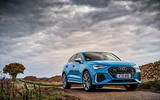 Audi RS Q3 Sportback 2019 UK first drive review - static front