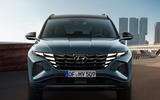 Hyundai Tuscon - front