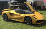 2020 Lotus Evija at Concours of Elegance - side