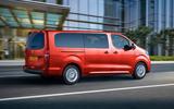 Vauxhall Vivaro-e Life 2020 - press pics