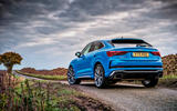 Audi RS Q3 Sportback 2019 UK first drive review - static rear