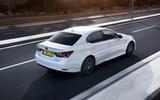 Lexus GS450h rear quarter