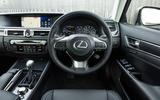 Lexus GS450h dashboard