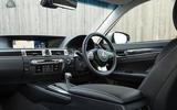 Lexus GS450h interior