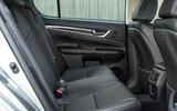 Lexus GS450h rear seats