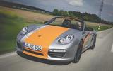 2011 Porsche Boxster E hero front