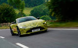 2017 Aston Martin Vantage spotted testing in near-production form