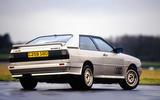 Audi Quattro - tracking rear