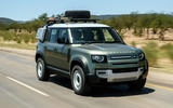 Land Rover Defender 110 S 2020 first drive review - on road front
