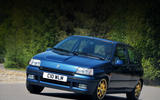 Renault Clio Williams - tracking front