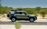 Land Rover Defender 110 S 2020 first drive review - on road side