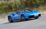 Ferrari 488 Spider drifting