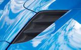 Ferrari 488 Spider air intakes