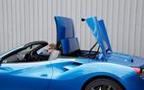 Ferrari 488 Spider roof closing
