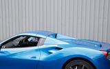 Ferrari 488 Spider roof up