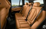 49 BMW X3 2021 LCI official rear seats