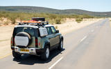 Land Rover Defender 110 S 2020 first drive review - on road rear