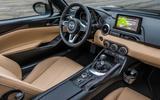 Mazda MX-5 Z-Sport cabin