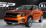Kia SP Concept revealed ahead of brand's 2019 Indian market entry