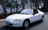Future classics: ten affordable used convertibles set to rise in value Honda CR-X Del Sol
