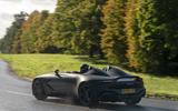 2020 Aston Martin Speedster - cornering rear