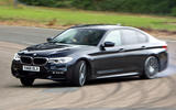 BMW 5 Series - tracking side