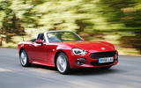 Fiat 124 Spider - tracking front