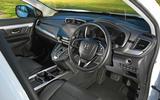 Hybrid mega-test - Honda CR-V interior