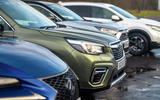 Hybrid mega test - Subaru Forester edging ahead