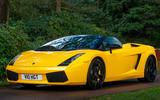 4 Lamborghini Gallardo