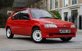 4 Peugeot 106 Rallye